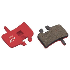 Jagwire Disc Sport Brake Pads Semi-Metallic for Hayes/HFX-9/Mag/MX1 red